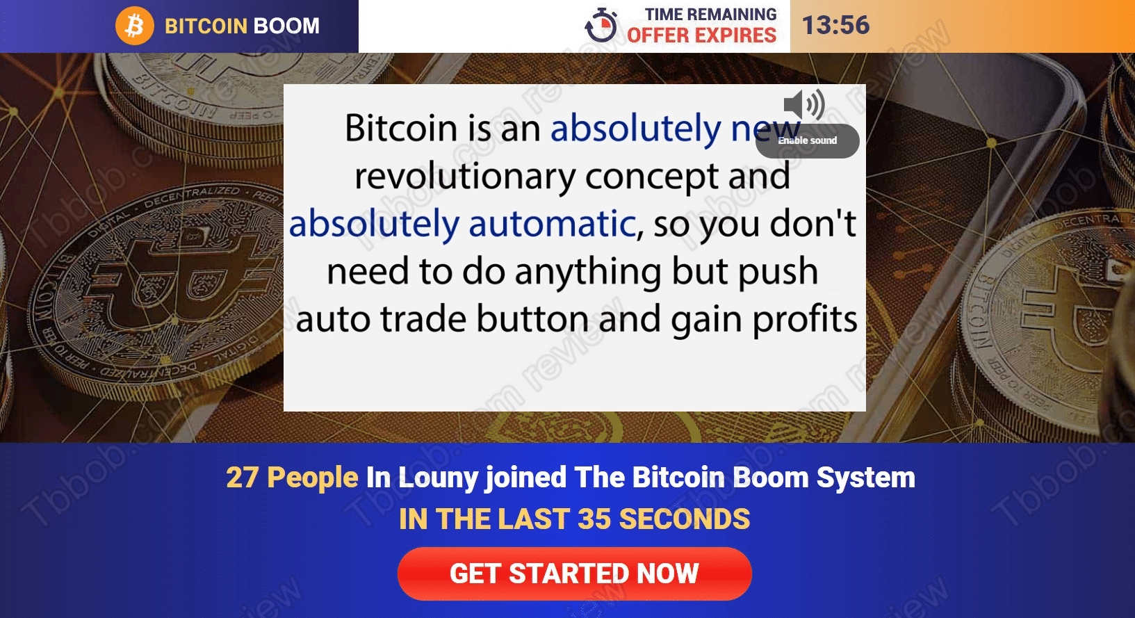 Bitcoin Boom How to sign up with Bitcoin Boom?