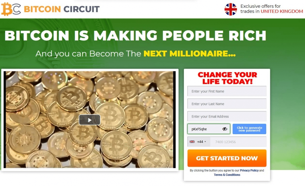 Bitcoin Circuit What is the product?