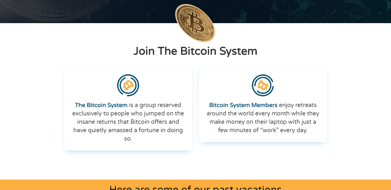 Bitcoin System How to sign up with Bitcoin System?