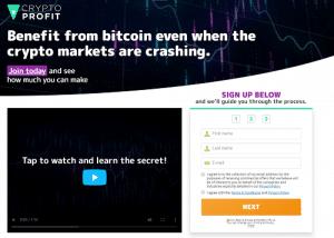 Crypto Profit Kā reģistrēties Crypto Profit?