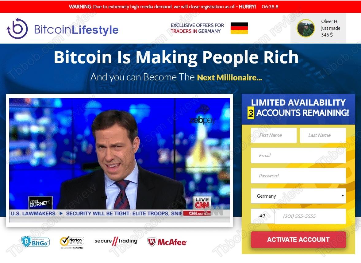 Bitcoin Lifestyle Vai Bitcoin Lifestyle Legit? Spriedums!