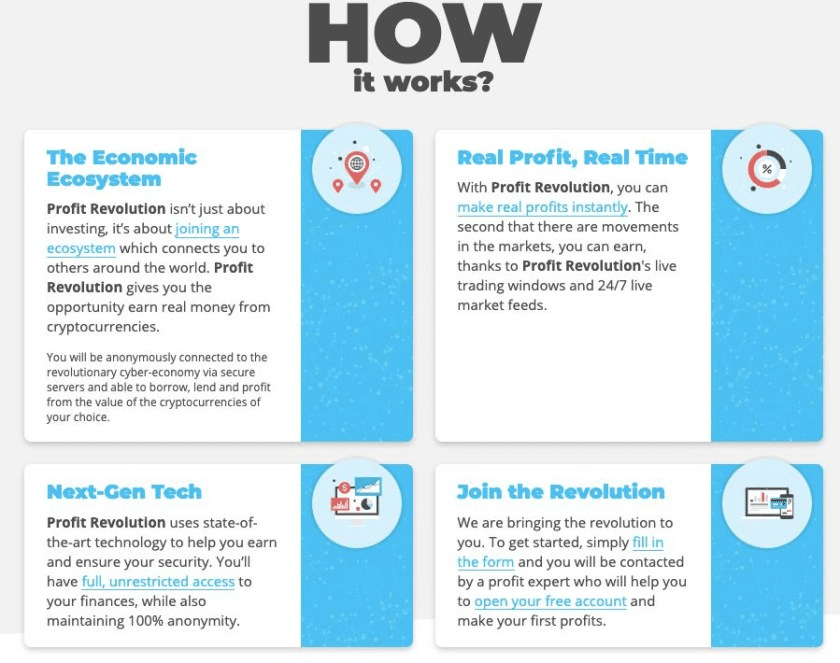 Profit Revolution Как да се регистрирате с Profit Revolution?